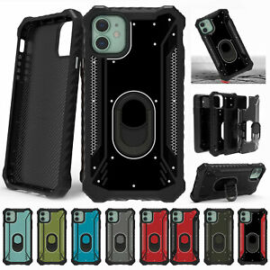 For-iPhone-11-Pro-Max-XS-XR-8-Plus-7-6-Cover-Heavy-Duty-Hybird-Stand-Case-Cover