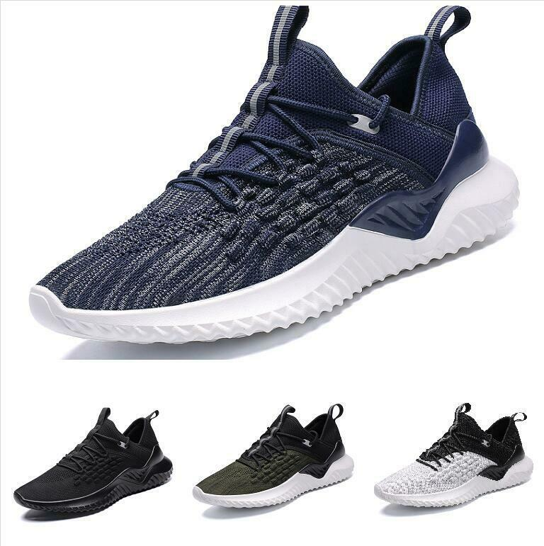 Casuals shoes Men Sneaker Sport Running Athletic Trail Mid Top Breathable Walk