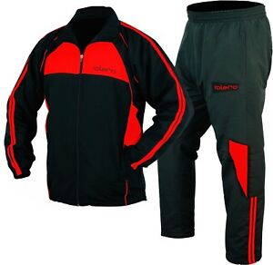 ISLERO-Polyester-Micro-Tracksuit-Gym-Jogging-Running-Zipper-Trouser-Football-Fit