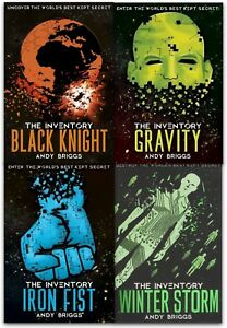 The-Inventory-Series-Collection-Andy-Briggs-4-Books-Set-The-Iron-Fist-Gravity