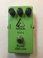 DeltaLab TO-1 Tube Driver Screamer Overdrive Distortion Guitar Effect Pedal