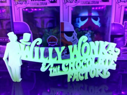 GitD Willy Wonka and the Chocolate Factory Display For Funko Pops