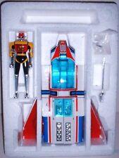 ORIG GODAIKIN MACHINE DOLPHIN DIECAST ROBOT RACECAR TRANSFORMER BANDAI JAPAN1984