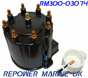 Distributor-Cap-amp-Rotor-Delco-EST-V8-Volvo-Penta-Mercruiser-EFI-3854548
