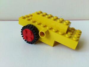 Lego SPARE BRICKS 3 PIECES PLANE PARTS-NO 1-Black