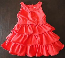 NEW Kate Spade Baby Girl Sleeveless Tiered Stretch Jersey Party Dress 24 Months