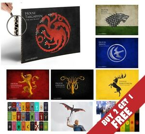 GAME-OF-THRONES-TV-SERIES-POPULAR-A4-POSTERS-THICK-PRINTS-GREAT-GIFT-IDEA