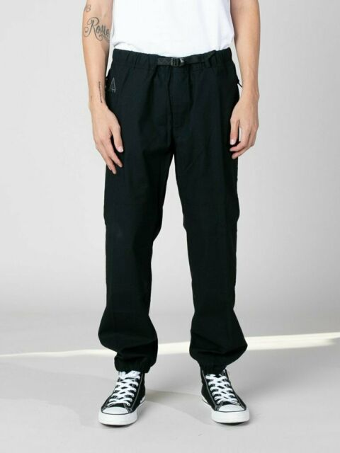 Men's Nike ACG Trail Pants Nikelab Black -Reg $100- Style CD4540 010 Size Large
