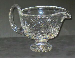 24/% lead crystal gravy boatpitcher