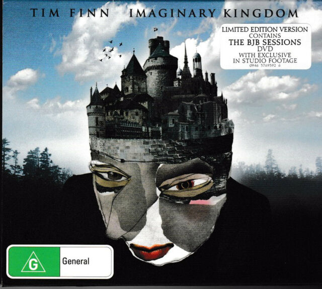 Tim Finn - Imaginary Kingdom [PAL; Region 0 All Region]  *** NEW CD/DVD SET ***