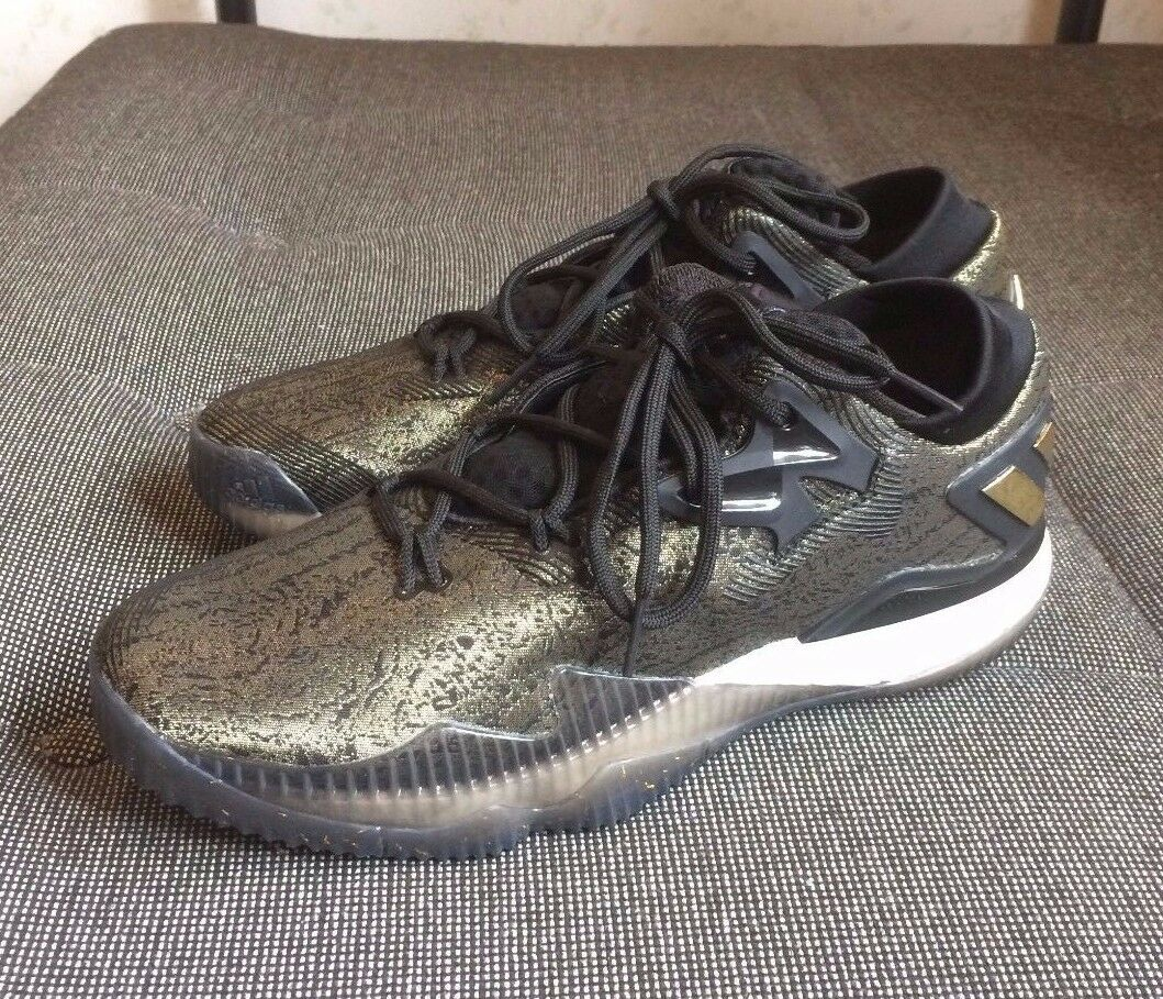 ADIDAS CRAZYLIGHT BOOST 2016 HARDEN gold MEDAL MVP SIZE 9.5