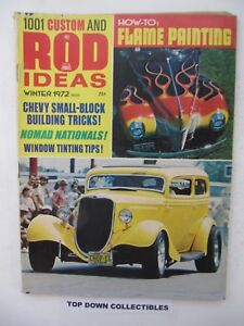 1001 Custom And Rod Ideas Magazine Winter 1972 Nomad Nationals In