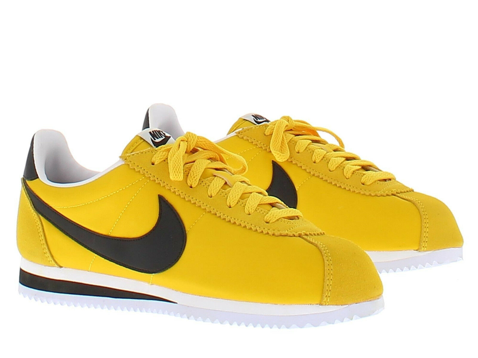 Nike classic nylon gelb größe 12  cortez in