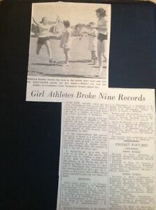 H81 Ephemera 1971 Picture Article Kathryn Exelby Camborne Girls Grammar Sports - Leicester, United Kingdom - H81 Ephemera 1971 Picture Article Kathryn Exelby Camborne Girls Grammar Sports - Leicester, United Kingdom