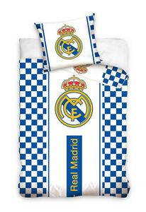 FUNDA NORDICA REAL MADRID ESCUDO FUNDA PARA EDREDON NORDICO 140X