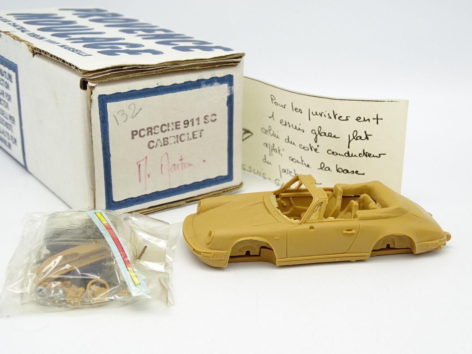 Provence Moulage Kit à Monter 1 43 - Porsche 911 SC 3.0 1983 Cabriolet