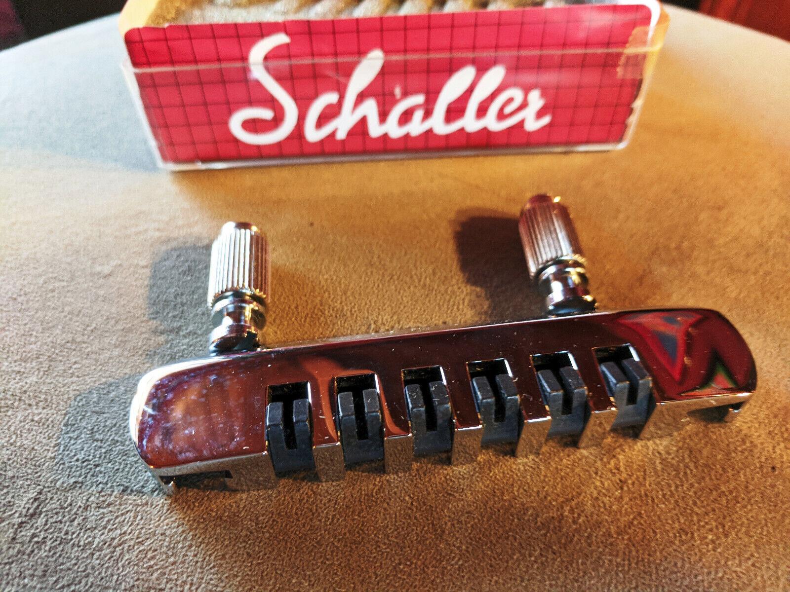 Schaller Stop Tailpiece in Chrome
