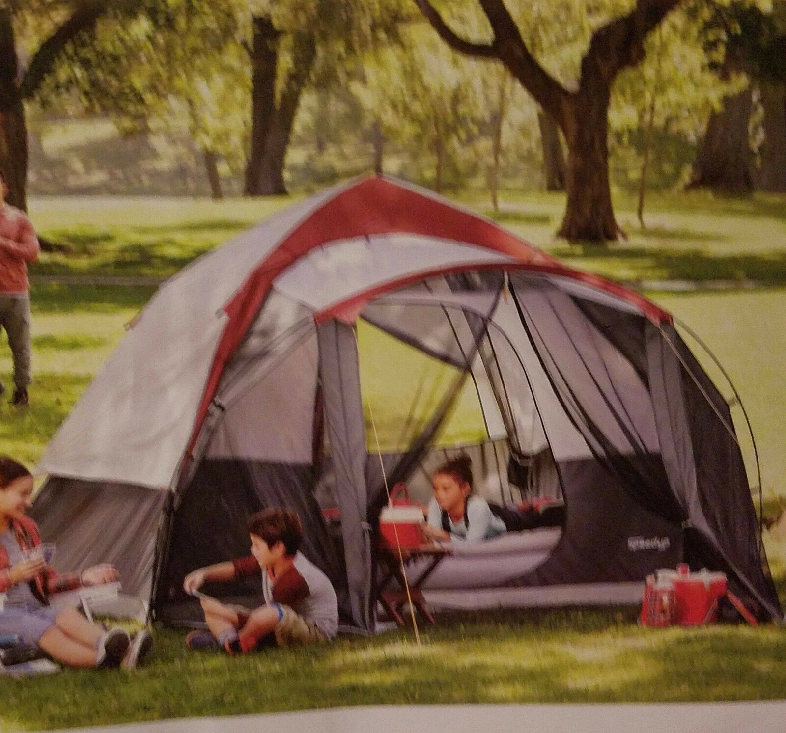 NEW Embark 6  Person Speed-Up Tent with SCREEN PORCH Camping 3 Minute Setup NIB  the most fashionable