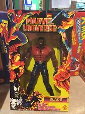 "1997 Toy Biz Marvel Universe 10"" Inch Figure Doll MIB - BLADE"