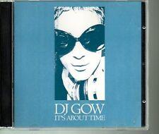 DJ Gow It's About Time 2CD Promo Remix Club Hits Peak Time Velvet David Gow Rare