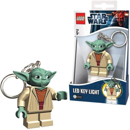 "LEGO STAR WARS YODA KEY-CHAIN LED TORCH BRAND NEW GREAT GIFT 2.5/"""