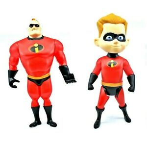 The-Incredibles-2-Big-Action-Figures-32cm-tall-Mr-Action-Figure-and-Dash-AU