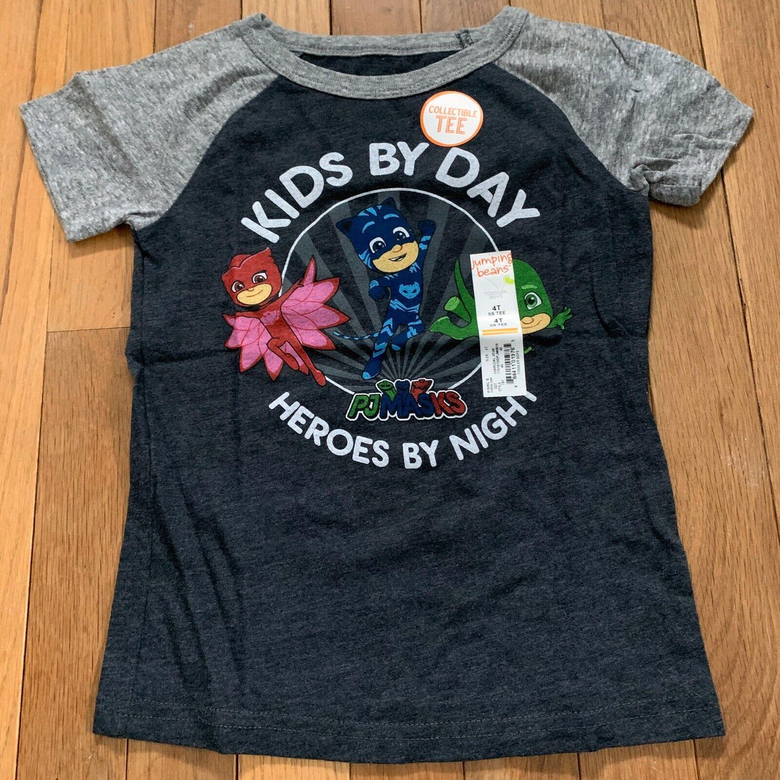 PJ MaskToddler Girls Long Sleeve T-Shirts 2T,3T,4T NWT