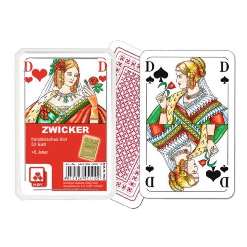 Nürnberger Spielkarten 04619910001 7033 - Zwicker, Französisches Bild
