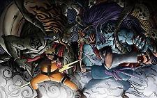 """Naruto Shippuden Poster Anime Uchiha Sasuke Art Silk Wall Poster 12x19"""" NRT63"""