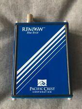 Pacific Crest Rfm96w Blue Brick Base Radio Modem Freq 430 450 0w Pn A00814