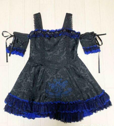 h.NAOTO FRILL Mini Dress Gothic Lolita