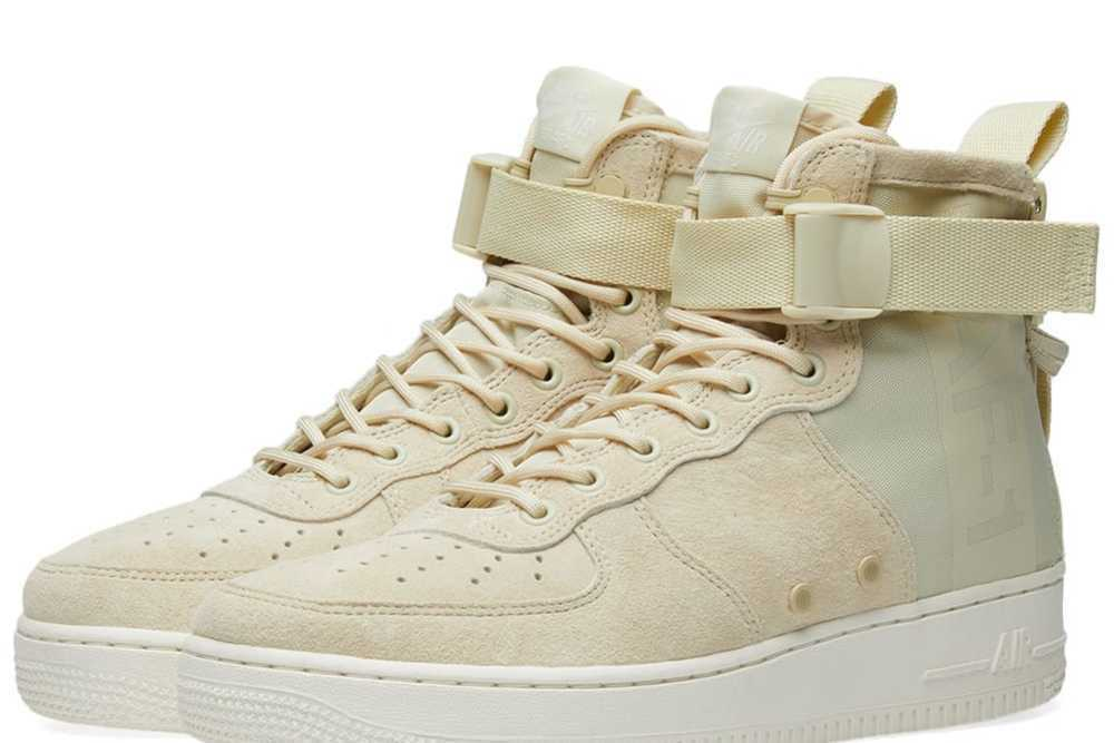 Wouomo Nike SF SF SF AF1 Mid  Fossil-Sail  MSRP  160 100% Authentic 96770f