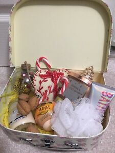 Image Is Loading Gift For Her BIRTHDAY GIFT HAMPER BASKET PAMPER