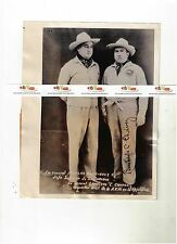 1938 EX-GENERAL NICOLAS RODRIGUEZ LAMBERTO C CHAVEZ GOLD SHIRTS MEXICAN UPRISING
