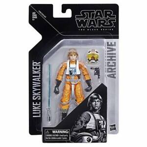 """Figure ~ Hasbro X-WING Star Wars Black Series//Archive ~ 6/"""" LUKE SKYWALKER"""