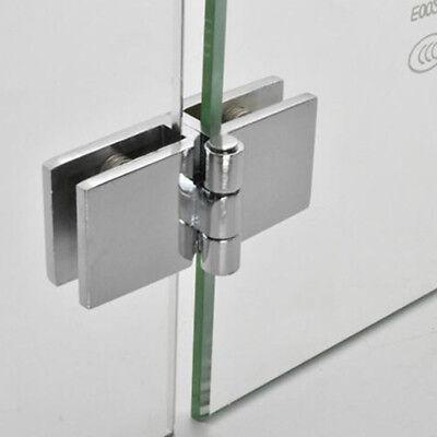 Bathroom Shower Glass Door Clamp Hinge Hardware Wine Display Cabinet Hinges FA