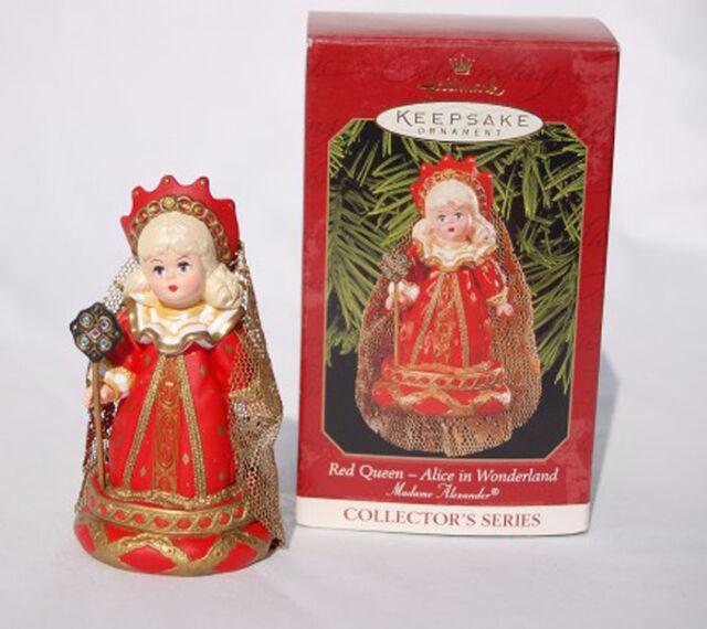 Hallmark Ornament 1999 Madame Alexander #4  Red Queen Alice in Wonderland QX6379