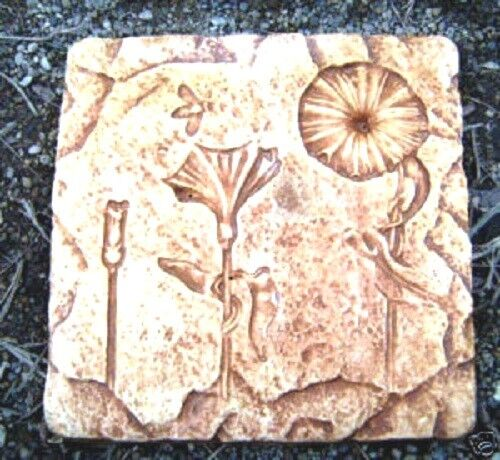 """Eclipse mold plaster concrete abs plastic stepping stone mould 11/"""" x 1/"""""""