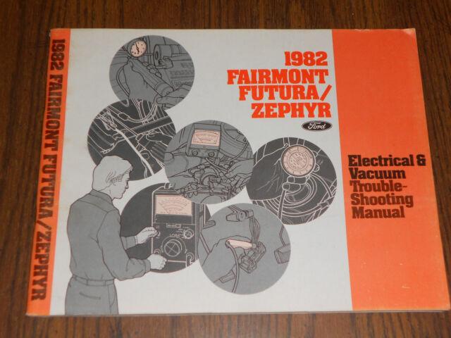 1982 Ford Fairmont    Mercury Zephyr    Wiring  U0026 Vacuum