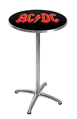ACDC Highway to Hell Premium BAR TABLE Pool Room Man Cave - Bar stools in Store