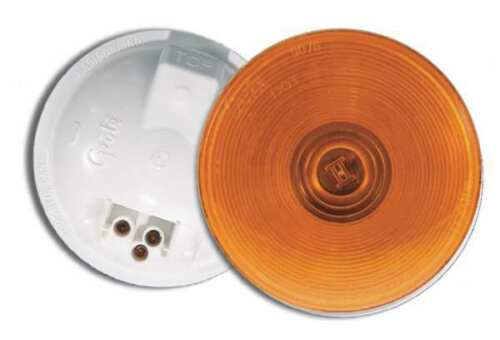 GROTE 52773 Stop//Tail//Turn Lamp,Yellow,Round