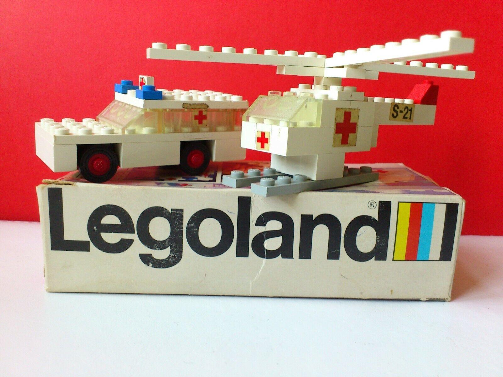 LEGO VINTAGE LOT  Nº 653 de 1973. 100% COMPLET W. Boîte et hommeuel. LEGOLAND.  vente en ligne