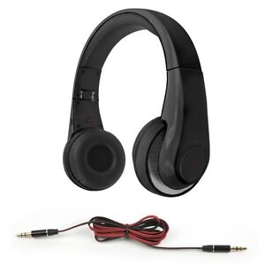 Muvit-Bluetooth-Stereo-Kopfhoerer-mit-Mikrofon-NFC-Drahtlos-amp-verkabelt