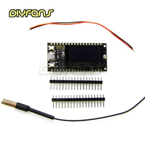 Sx1276//sx1278 433mhz Lora esp32 0.91//0.96 Inch Blue OLED Display nodemcu modules