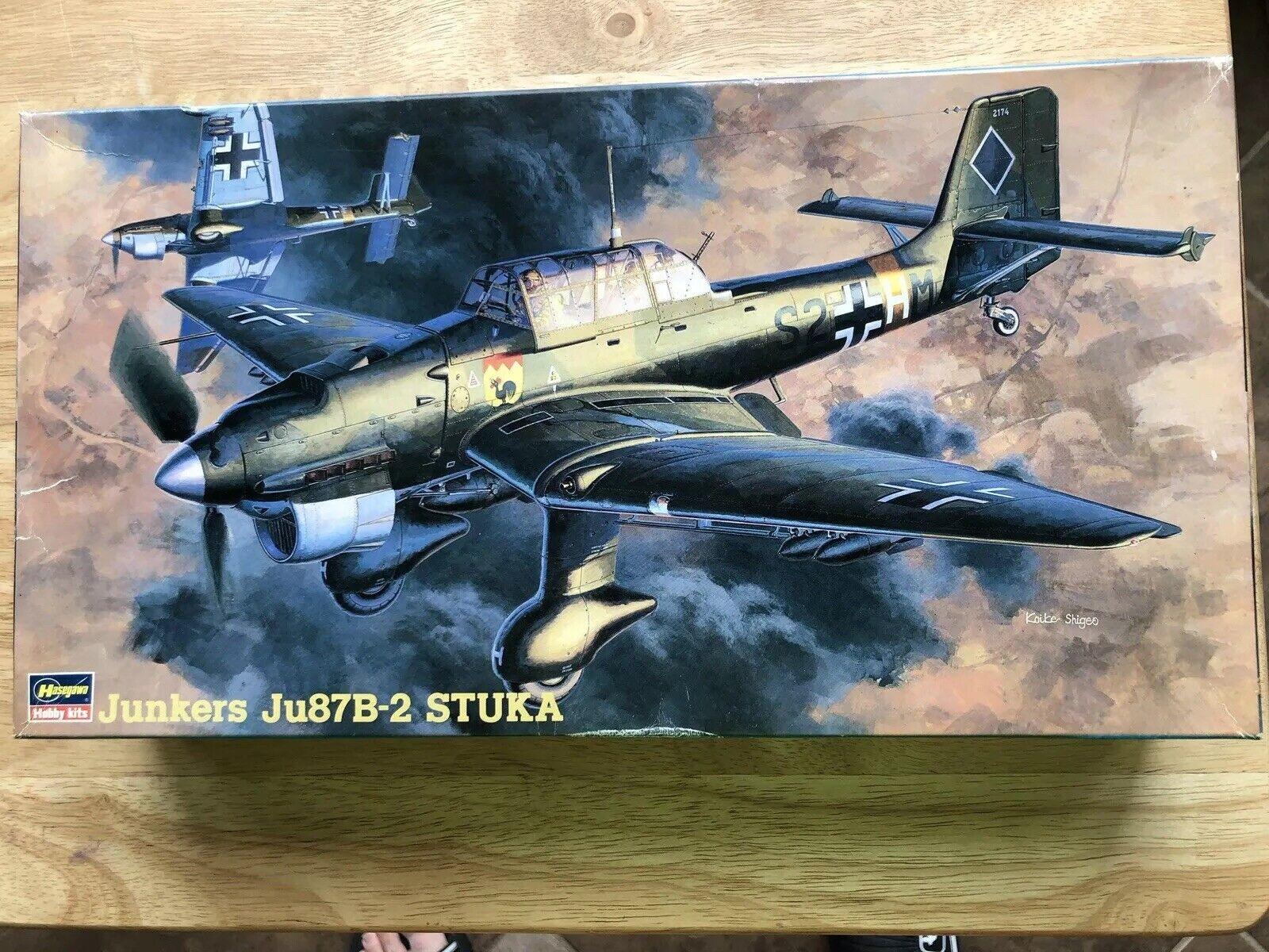 Hasegawa JT13  1 48 Ju87B-2 Stuka