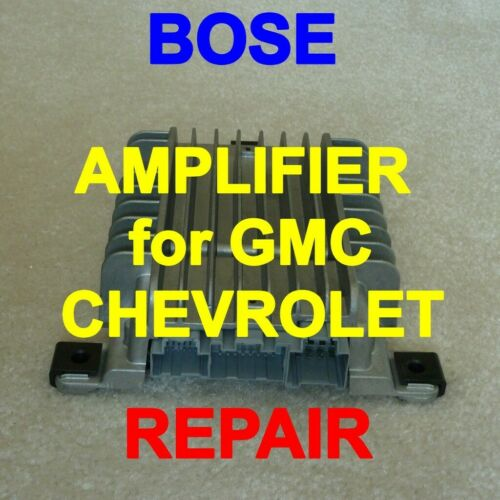 REPAIR for YOUR BOSE AMPLIFIER GMC ACADIA CHEVROLET TRAVERSE 2007-2015  25796753