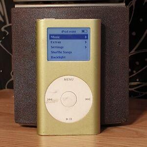 APPLE-iPod-Mini-1st-Gen-Generation-Green-4GB-Rare-Collectable-MP3-Player-M9434B