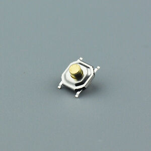 50x-Waterproof-Copper-Button-SMD-Tactile-Tact-Micro-Push-Switch-4-Pin-4-4-2-5mm