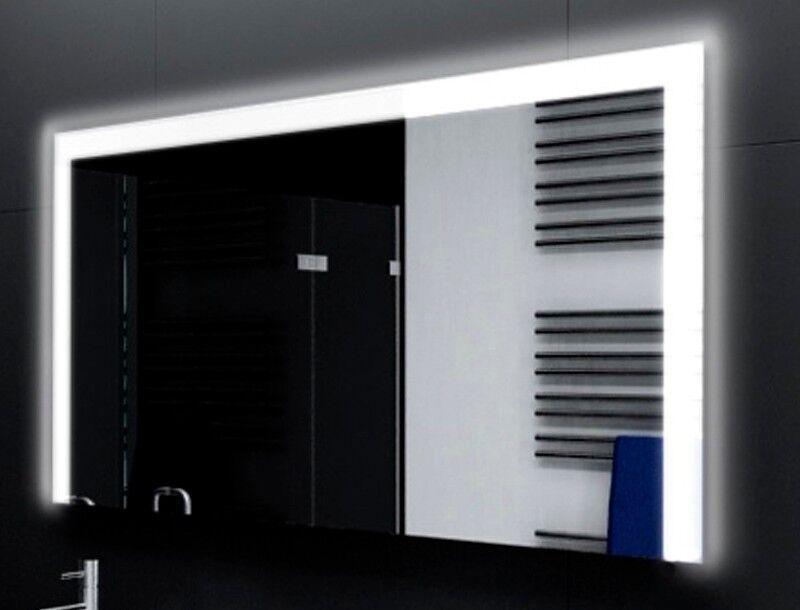 Badspiegel mit LED Beleuchtung Badezimmerspiegel Bad Spiegel Wandspiegel M118