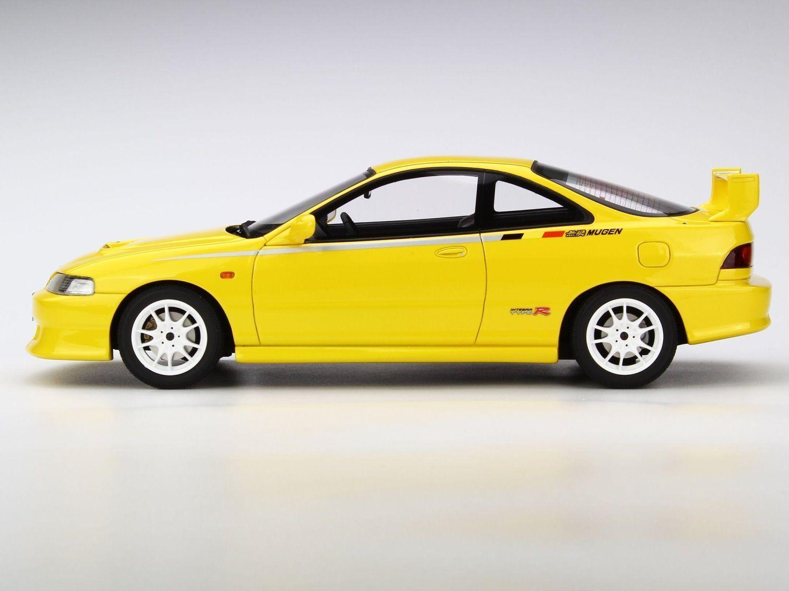 apresurado a ver OT762 1 18 Otto Modelo Mugen Honda Integra Tipo Tipo Tipo R DC2 Amarillo 300 piezas  venta al por mayor barato